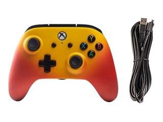 PowerA XboxOne & PC Wired Controller Solar Fade Orange -
