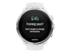 Suunto 9 G1, Smartwatch, 24 mm, Silikon, Weiß