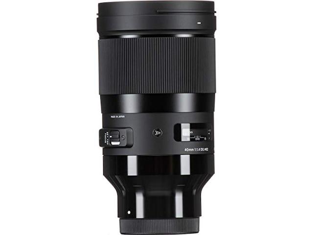 Sigma 40mm f/1.4 DG HSM A Sony FE-Mount