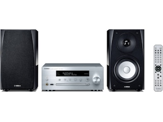 Yamaha MCR-N570D (Schwarz/Silber) -