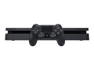 Sony PlayStation 4 - Konsole (500GB, schwarz, slim) inkl. 2 DualShock 4 Controller -