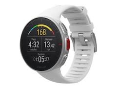 Polar Vantage V - Profi-Multisportuhr mit GPS, Smartwatch, 155-210 mm, Silikon, Weiß