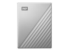 Western Digital My Passport Ultra 4TB USB3.0 & USB-C 2.5zoll - Silber (WDBFTM0040BSL-WESN)