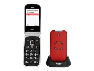 TipTel Ergophone 6122 Seniorenhandy rot -