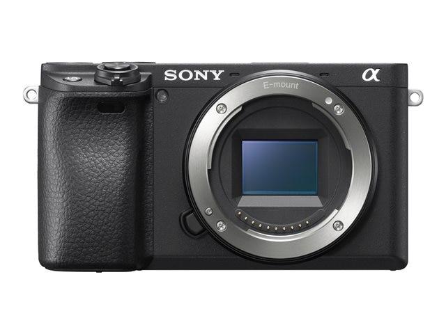Sony Alpha 6400 Gehäuse schwarz