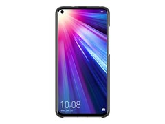 Honor View 20 PU Thicknessing Protective Cover, Schwarz