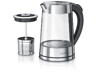 Arendo Infusion Edelstahl Glas-Wasserkocher (303242) -