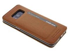 Bugatti Booklet Case Samsung Galaxy S8 Braun
