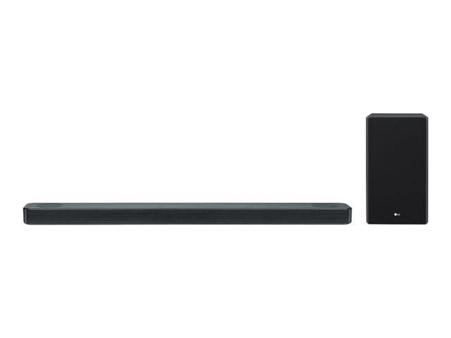 LG SL8YG, Schwarz - 3.1.2 Soundsystem (Dolby Atmos, 440W, Meridian Audio, AI ThinQ, Google Assistant)