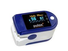 POLOX PO-200 Solo Pulsoximeter blau