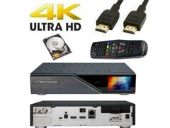 Dreambox DM920 UHD 4K 1x DVB-S2X FBC Multistream / 1x DVB-S2 Dual Tuner E2 500GB