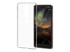 Nokia 6.1 - Clear Case CC-110, Transparent