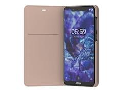 Nokia 5.1 Plus - Entertainment Flip Cover CP-251, Cream