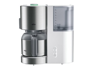 Braun ID Collection KF 5105 Kaffeemaschine mit Thermokanne Weiß -