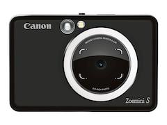 Canon Zoemini S Sofortbildkamera 8 Megapixel mobiler Fotodrucker Mattschwarz