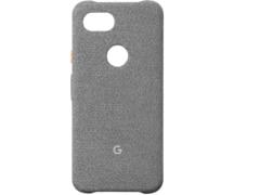 Google Case Cement , Google, Pixel 3a, Kunststoff/Stoff, Grau