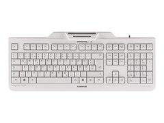 Cherry KC 1000 SC-Z USB Tastatur DE  weiß (JK-A0100DE-0-Z-)