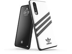 Adidas Moulded Case für Huawei P30 Weiß/Schwarz