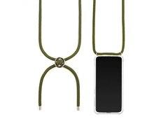 Jalouza TPU Case mit Kette Apple iPhone X Grün