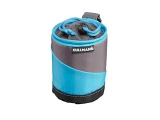 Cullmann 98633 Lens Container M Objektivtasche Cyan/Grau -