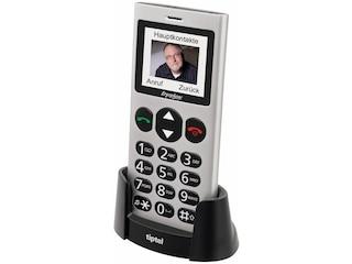 TipTel Ergophone 6264 Seniorenhandy Silber -