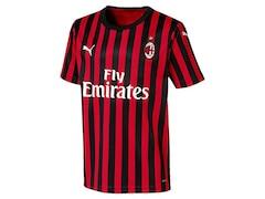 Puma AC Mailand Trikot 2019/2020 Kinder Fußball-Trikot Heim Größe: 152