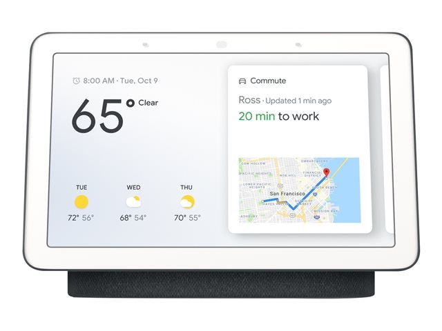 Google Nest Hub Smart Display mit Sprachsteuerung