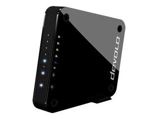 Devolo Access Point One [1733 Mbit/s, WLAN ac, Dual Band, 1x Gigabit LAN, 4x LAN Ports] -