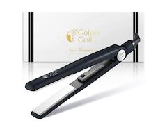 Golden Curl The Black & White Glätteisen