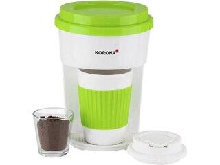 Korona 12203 ToGo Kaffeemaschine grün/weiß -