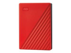 My Passport 4 TB Festplatte 2.5 Zoll in Rot (WDBPKJ0040BRD-WESN)