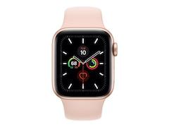 Apple Watch Series 5 GPS 40mm Aluminiumgehäuse mit Sportarmband