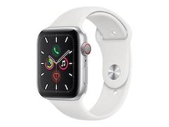 Apple Watch Series 5 GPS + Cellular 44mm Aluminiumgehäuse mit Sportarmband