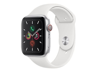 Apple Watch Series 5 GPS + Cellular 44mm Aluminiumgehäuse mit Sportarmband -