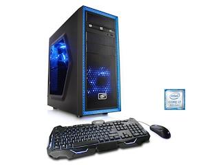 CSL Computer Gaming PC Speed T9795 blau -
