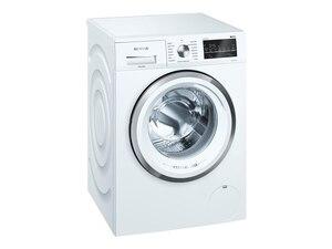WM14G492 Stand-Waschmaschine-Frontlader weiß