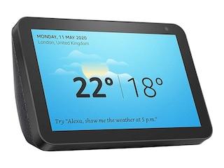 Amazon Echo Show 8 Smart Display mit 8 Zoll HD-Bildschirm und Alexa Anthrazit -
