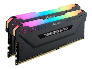 Corsair Vengeance RGB Pro Schwarz 16GB DDR4 3600 (2x8GB) C18 2D (CMW16GX4M2D3600C18) -
