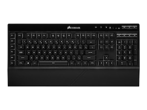 K57 RGB Tastatur USB + Bluetooth QWERTZ Schwarz