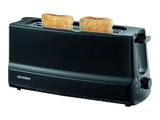 Severin AT 2233 Langschlitz-Toaster schwarz -