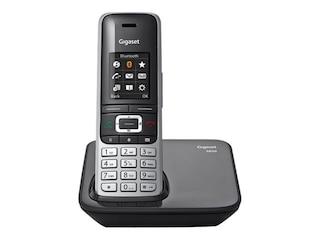 Gigaset S850 Analoges/DECT-Telefon Schwarz -