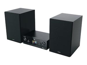 CMS 5000 BT DAB+ WEB Hifi-System schwarz