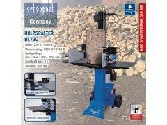 Scheppach HL730 Holzspalter stehend - 230V 50Hz 3000W - 7t