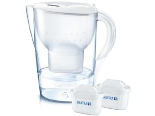 Brita Marella XL + 2 Maxtra+ Tischwasserfilter weiß -