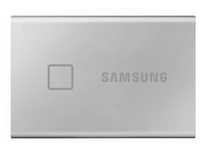 Portable SSD T7 Touch 1 TB USB 3.2 Gen2 Typ-C silber (MU-PC1T0S/WW)
