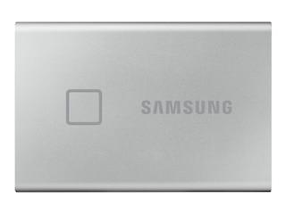 Samsung Portable SSD T7 Touch 1 TB USB 3.2 Gen2 Typ-C silber (MU-PC1T0S/WW) -