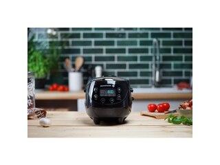 Reishunger Digitaler Mini Reiskocher 542-MDRK-B schwarz -