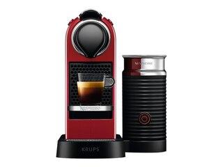 Krups XN7615 Nespresso CitiZ & Milk cherry red -