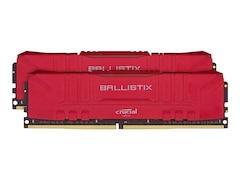 Crucial Ballistix Rot 16GB Kit (2x8GB) DDR4-3200 CL16 Gaming-Arbeitsspeicher (BL2K8G32C16U4R)