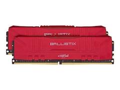 Crucial Ballistix Rot 16GB Kit (2x8GB) DDR4-3600 CL16 Gaming-Arbeitsspeicher (BL2K8G36C16U4R)